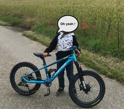 "vélo 20"" (5-8ans)"