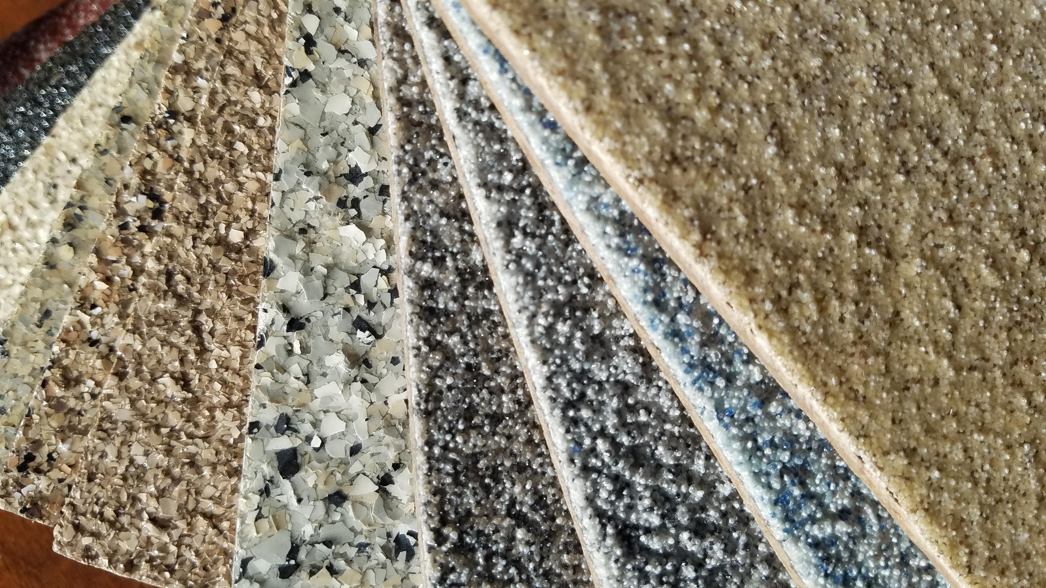 Epoxy Floor Coating Close-up View