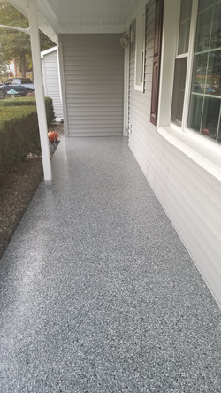 Do you have an old cracked porch?
