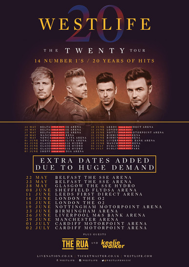 Westlife - The Twenty Tour