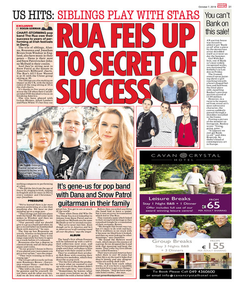 The Rua - Sunday World