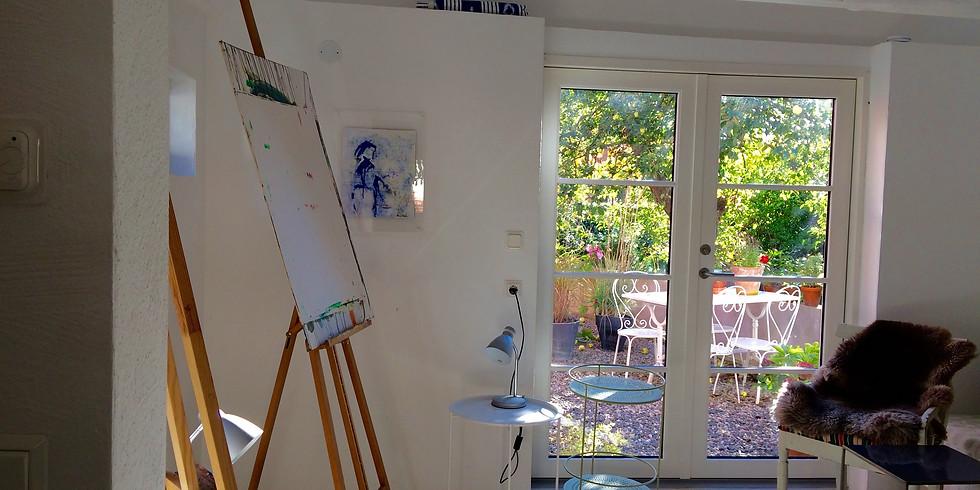 Vedic Art i  min atelje på Österlen - Grund och Fortsättningskurs