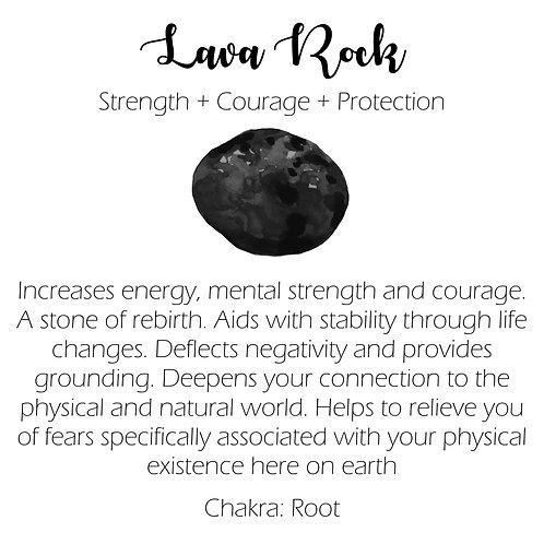 Lava Rock - Bracelet
