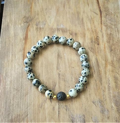 Dalmatian Jasper - Bracelet