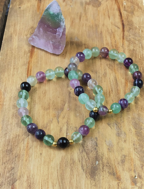Fluorite - Bracelet