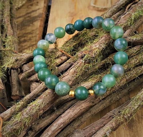 Moss Agate - Bracelet