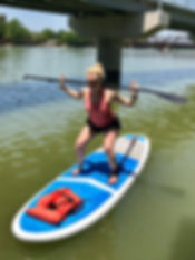 workout on the water