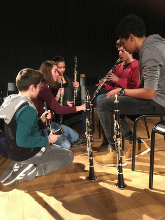 Master Class - clarinette