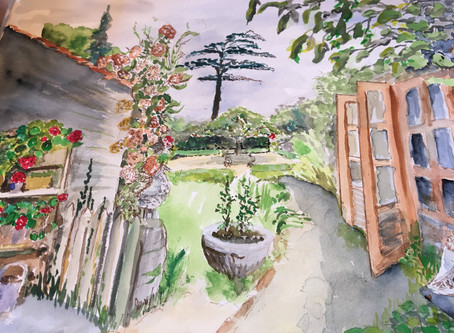 Dedham Art Society - 9th July 2019 Secret Garden