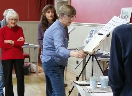 Dedham Art Society - Session on Thursday 20th February 2020
