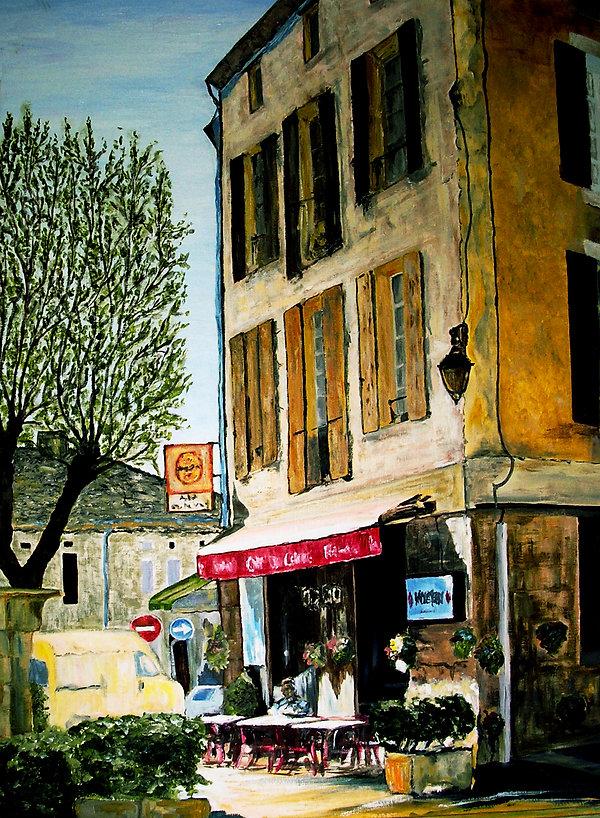 Cafe du Centre Montcuq