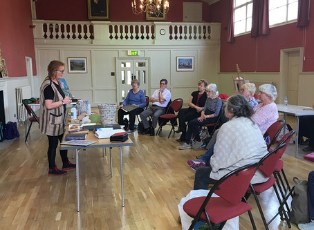 Dedham Art Society - 18th April 2019 with Jan Fallows