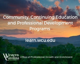 Community, Continuing Education and Prof