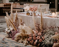 gathered and styled arches and co
