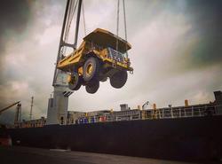 Transporting a fleet of 777Fs
