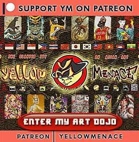 Patreon YellowMenace Banner