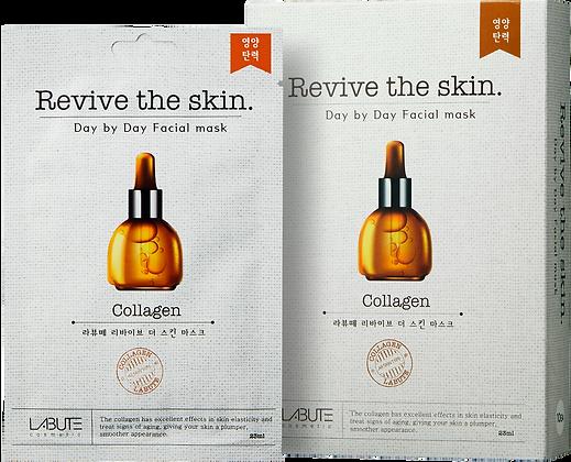 LABUTE Маска тканевая восстанавливающая с коллагеном  Revive the skin