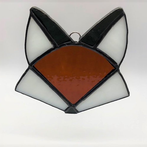 Adorable Stained Glass Fox