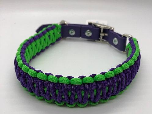 "Paracord Dog Collar Large 16-18.5"" Adjustable"