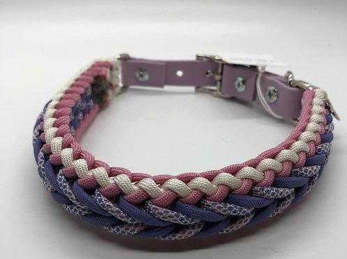 "Paracord Dog Collar: Large 16-18.5"" Adjustable"