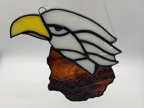 Beautiful Stained Glass Eagle