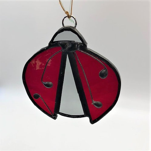 Stained Glass Lady Bug