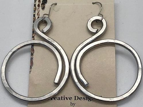 Best Seller! Fun Swirl Dangling Earrings