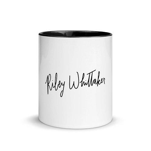 Signature Mug with Color Inside