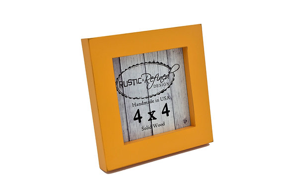 "4x4 1"" Gallery Picture Frame - Mango"