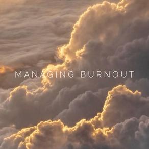 Managing Professional Burnout