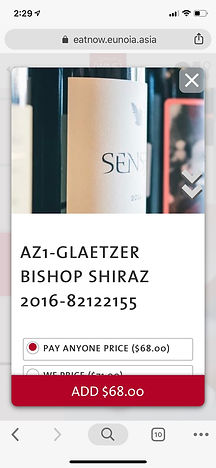 Singapore Wine Fiesta 2018 Product Page