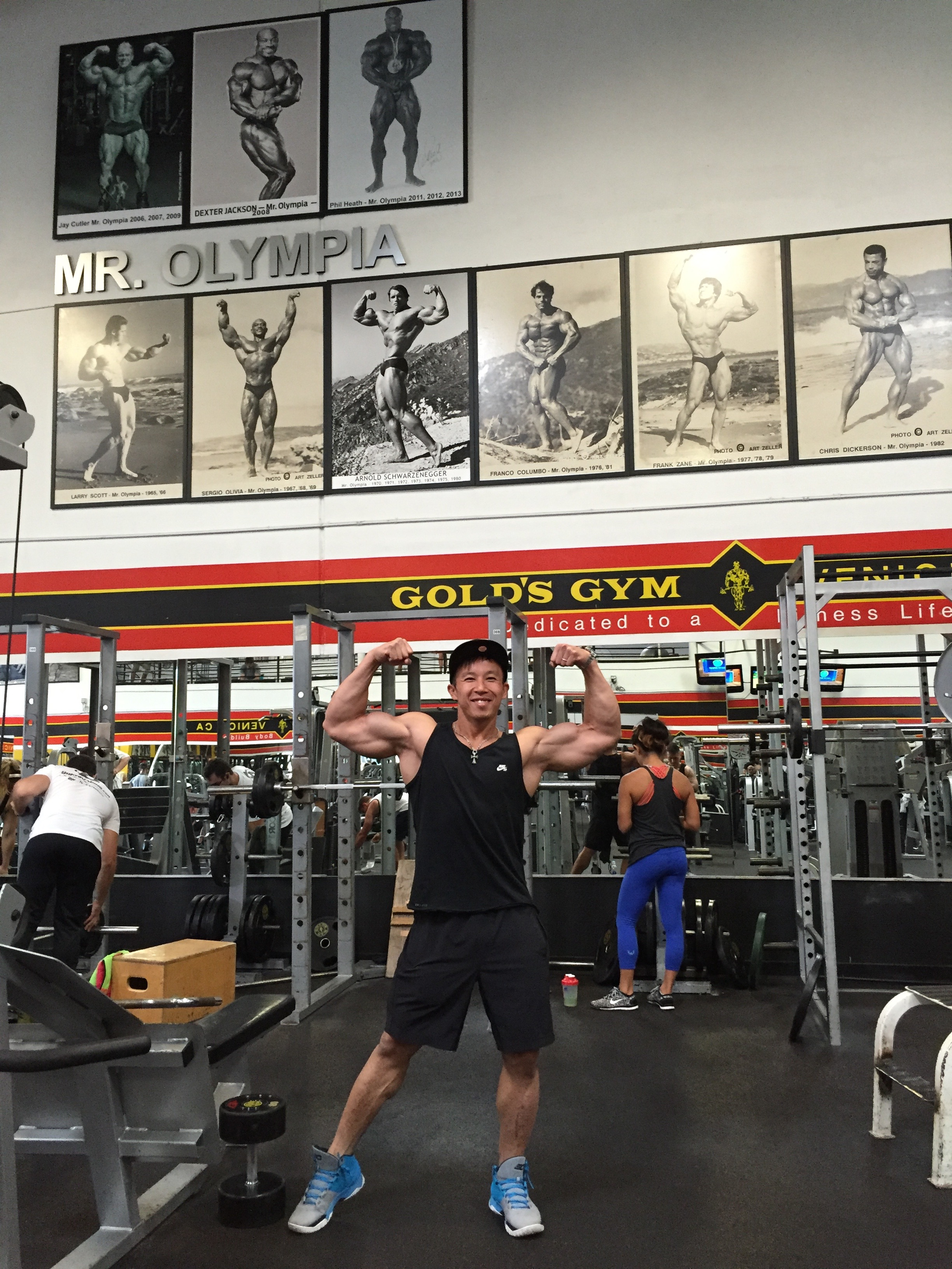 MECCA  of Bodybuilding Golds Gym