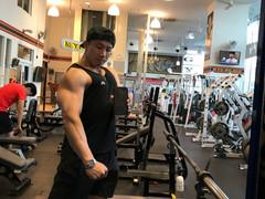 Training log on 21.3.2017 at Gold's Gym, Harajuku