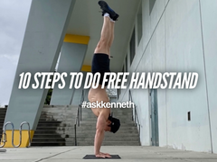 10 Steps To Do Free Handstand | #AskKenneth