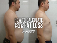 #AskKenneth | How To Calculate Macros For Fat Loss