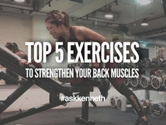 Top 5 Exercises To Strengthen Your Back Muscles