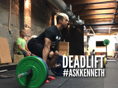 #AskKenneth 252: How can I get stronger - Part 2 - Deadlift