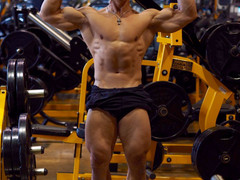 One Day at Golds Gym, Burnaby, Vancouver