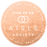 Aisle society feature wedding