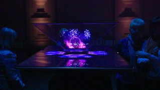 HOLOGRAPHIC TV .... A QUESTION OF TIME?