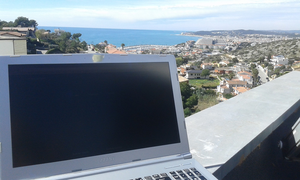 View from Montagavina Urb. in Sitges