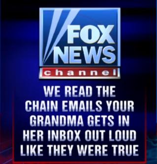 Bye Bye FOX NEWS...
