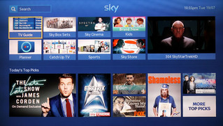 SKY + upgrades, thanks to SKY Q