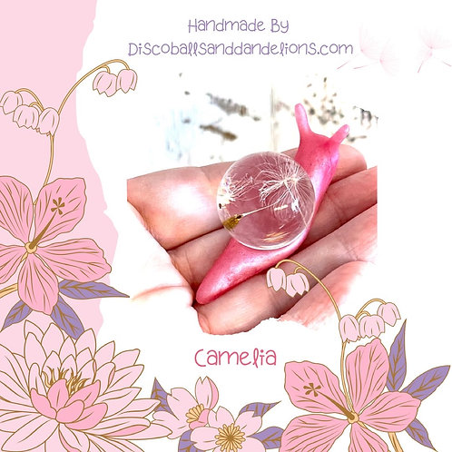 Limited Edition Camelia The Wish Snail Ornament