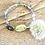 Thumbnail: Dandelion Wish Fluorite Bracelet