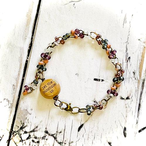 Handmade Let The Sunshine In  Bracelet