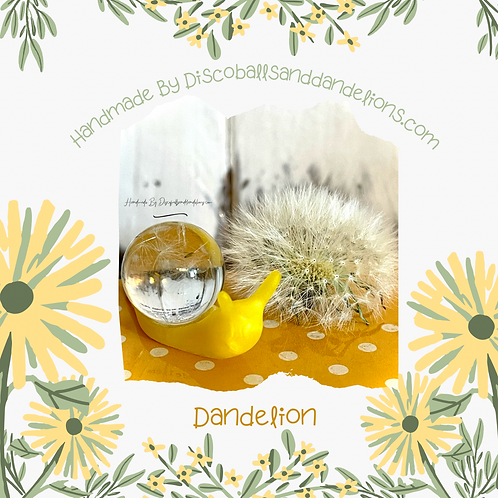 Limited Edition Dandelion The Wish Snail Ornament