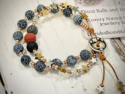 Aromatherapy Toggle We Are Made Of Stars Bracelet