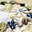 Thumbnail: Artisan Ceramic Heart Springtime Anklet