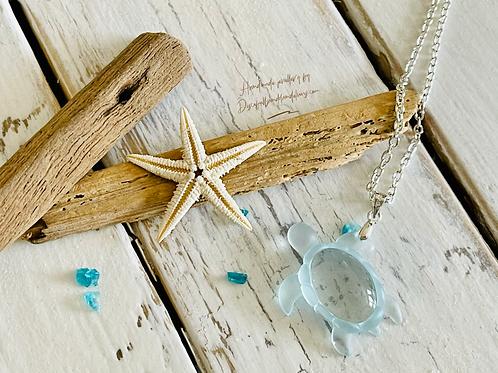 Handmade Little Turtle Pendant